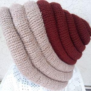 Vintage Conical Oversized Hat